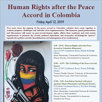 Human Rights After the Peace Accord in Colombia Pt.1