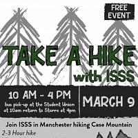 ISSS Outings: Case Mountain to Downtown Manchester Hike