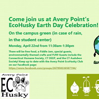 Avery Point's EcoHusky Earth Day Celebration