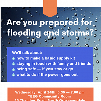 Are you prepared for flooding and storms?