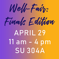 Well-Fair: Finals Edition
