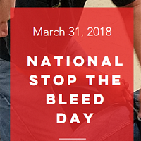 Free National Stop the Bleed Day Classes
