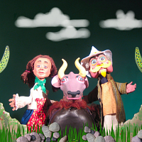Cinderella in the Wild West by Robert Rogers Puppet Company