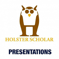 Holster Scholar Summer Research Symposium