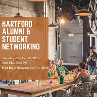 Hartford Alumni & Student Networking
