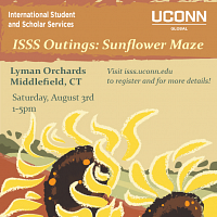 ISSS Outings: Sunflower Maze