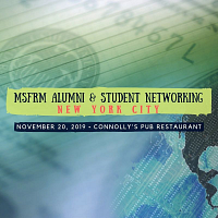 MSFRM Alumni & Student Networking Reception