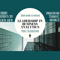 Leadership in Business Analytics Panel