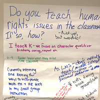 Centering Youth Voices in Human Rights Education and Advocacy