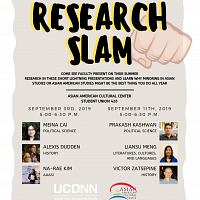 Faculty Research Slam 1