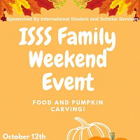 ISSS Family Weekend Event