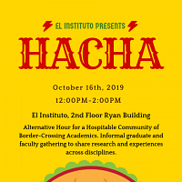 HACHA: Alternative Hour for a Hospitable Community of Border-Crossing Academics
