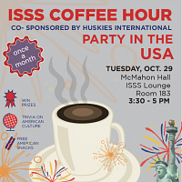 ISSS Coffee Hour Party in the USA