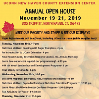 Annual New Haven Extension Open House