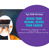 Revive Your Resume: Soft Skill Workshop