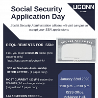 Social Security Number Application Day