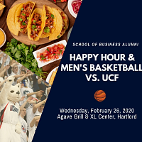 Business Alumni Happy Hour and Basketball Game