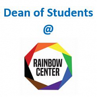 New DATE: Dean of Student Drop-in Hours at the Rainbow Center