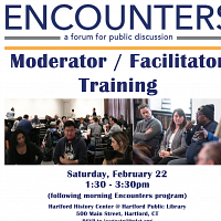 Encounters: Moderator/Facilitator Training