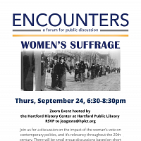 Encounters: Women's Suffrage