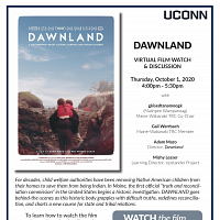 10/1/2020 Dawnland Virtual Film Watch & Discussion