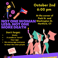 Not One Woman Less, Not One More Death Protest