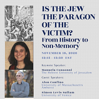 Is The Jew The Paragon Of The Victim? From History To Non-Memory