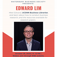 The Talk With Edward Lim, UConn Business Librarian