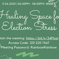 Healing Space For Election Stress