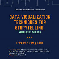 MSBAPM Exclusive Event: Data Visualization Techniques for Storytelling