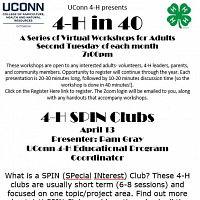 4-H In 40: 4-H SPIN Clubs