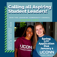 Spring 2021 Learning Community Council Application Due