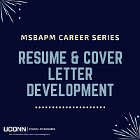 Resume & Cover Letter Development