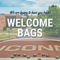 Welcome Bags - Storrs Campus Students