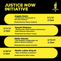 Martin Luther King III, Justice Now Speaker Series