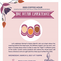 ISSS Coffee Hour: The Hijab Experience