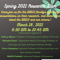 AAASI Spring 2021 Research Slam