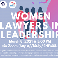 Women Lawyers in Leadership
