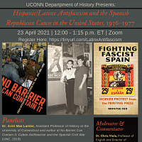 Hispanic/Latinx Antifascism And The Spanish Republican Cause In The United States, 1936-1977