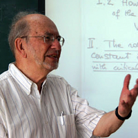 Mathematics Distinguished Lecture Series<br>New Perspectives On Sobolev Norms<br>Haim Brezis (Rutgers And Technion)