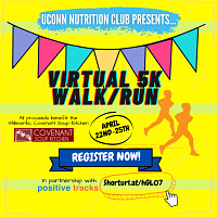 UConn Nutrition Club Virtual 5k Fundraiser