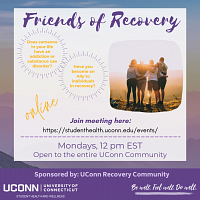 Friends of Recovery - Online